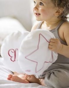 LES TOILES BLANCHES -  - Children's Pillow