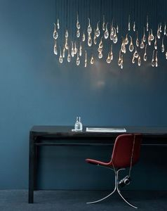 Ochre - see cloud - Hanging Lamp