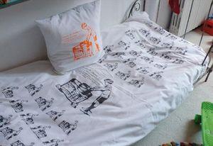 leçons de choses - la poussée d'archimède - Children's Bed Linen Set