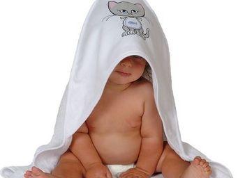 SIRETEX - SENSEI - cape de bain jersey/eponge imprimé misti bavoir - Hooded Towel