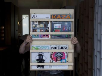 MALHERBE EDITION - porte revues, le double - Magazine Rack
