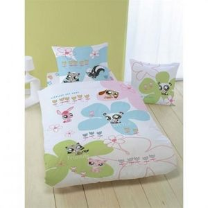 LPS - parure de lit lps flowers - Children's Bed Linen Set