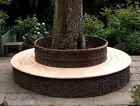 Brampton Willows -  - Circular Tree Bench