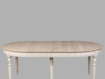 BLANC D'IVOIRE - hubert - Oval Dining Table