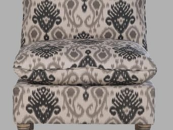 BLANC D'IVOIRE - arnaud noir - Fireside Chair