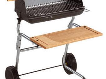 INVICTA - barbecue victoria spécial rôtissoire 66x71x98cm - Charcoal Barbecue