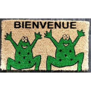 CODEVENT - paillasson bienvenue grenouilles - Doormat
