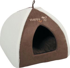 ZOLUX - igloo happy en tissu microfibre moka 47x47x38cm - Doggy Bed