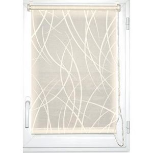 Luance - store enrouleur tamisant imprimé 45x180cm écru - Light Blocking Blind
