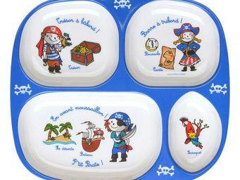 La Chaise Longue - plateau repas pirates - Infant Bowl