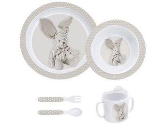 Mathilde M - mon premier coffret repas lapin - mathilde m. - Kid Table Service