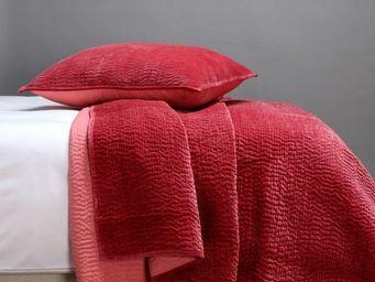 BLANC D'IVOIRE - cesar boutis velours - Matelasse Bedspread