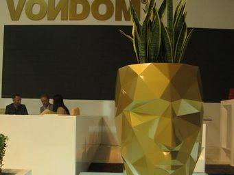 VONDOM - pot design vondom adan 70 cm - Flower Box