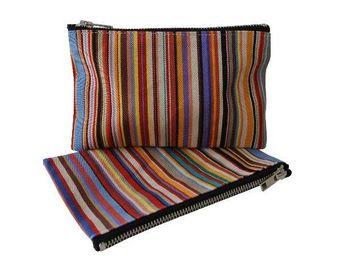 Les Toiles Du Soleil - tom multicolore - Makeup Bag