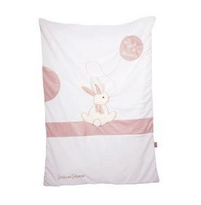 Doudou & Compagnie - lapin bonbon - Infant's Quilt