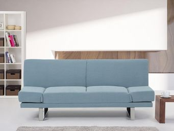 BELIANI - york couleur marine - Futon