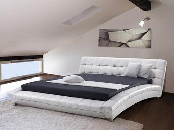 BELIANI - lit lille blanc - Double Bed