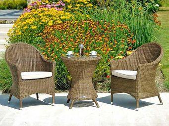 Alexander Rose - weave - Garden Side Table