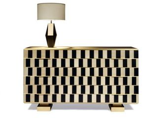 Negropontes - op art- - Chest Of Drawers