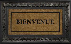 Aubry-Gaspard - paillasson coco et latex bienvenue - Doormat