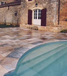 Occitanie Pierres -  - Pool Border Tile