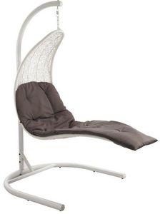 Aubry-Gaspard - balancelle transat en résine - Swinging Chair