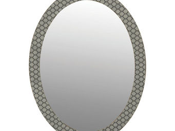 Interior's - miroir ovale clair obscur - Table Mirror