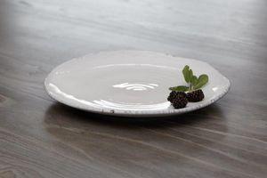 Kelly Hoppen - ruffled edge  - Dinner Plate