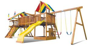 RAINBOW PLAY SYSTEMS -  - Play Area