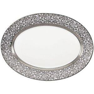 Raynaud - tolede platine - Oval Dish