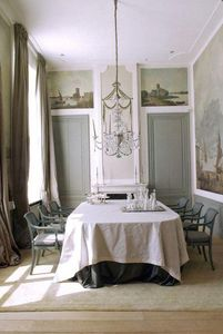 ROUGE ABSOLU -  - Interior Decoration Plan Dining Room