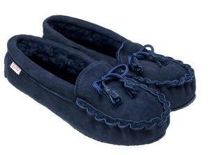 BABBI - winnetou navy-femme - Slippers