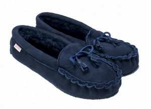 BABBI - winnetou navy-homme - Slippers