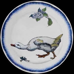 Au Bain Marie - bracquemond - Decorative Platter