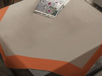 BLANC CERISE - delices de lin cocktail - Square Tablecloth