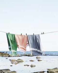 MADAM STOLTZ -  - Fouta Hammam Towel