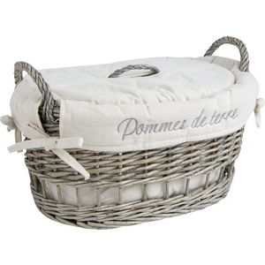 Aubry-Gaspard - coffret en osier - Vegetable Basket