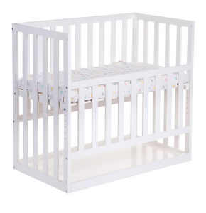 WHITE LABEL - berceau cododo coloris blanc - Travel Cot