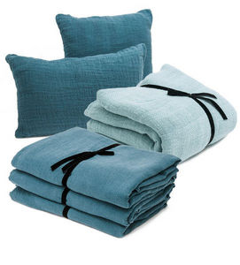 Couleur Chanvre - --chanvre pur / jacquard - Bed Linen Set