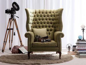 Berto Salotti - kingdom - Armchair With Headrest