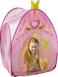 Traditional Garden Games - tente de jeu princesse love 85x85x115cm - Children's Tent
