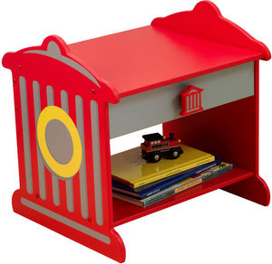 KidKraft - table de nuit pompier - Children's Bedside Table