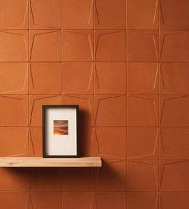 CUIR AU CARRÉ - etoile - Leather Paving Stone