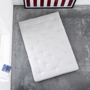 WHITE LABEL - matelas futon coco 120*200*16cm - Futon