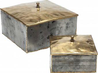 Kare Design - boîte melange 2/set - Decorated Box