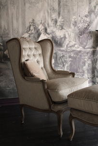 EMERALD COLLECTIONS -  - Armchair With Headrest