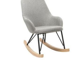 Miliboo - rocking chair jhene - Children's Armchair