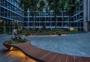 Alexis Tricoire - Tricoire Design - botanic twist - Town Bench