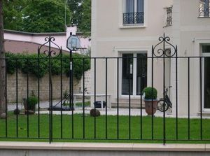 La Forge  de La Maison Dieu -  - Fence With An Openwork Design
