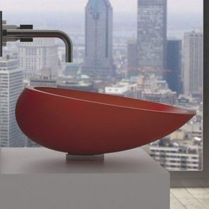 GLAss DESIGN - kool - Freestanding Basin